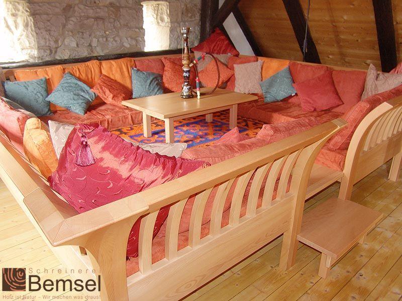 produkte arabische sitzecke schreinerei bemsel. Black Bedroom Furniture Sets. Home Design Ideas